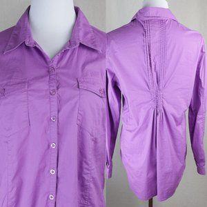 5/$20 Christine Alexander Shirt Button Down Top L